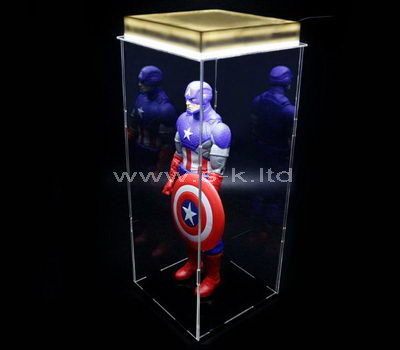 Custom design clear acrylic star display box