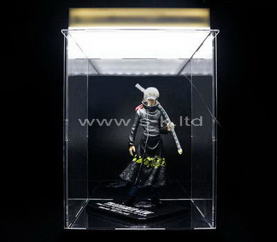 Custom design clear acrylic martial artist display box