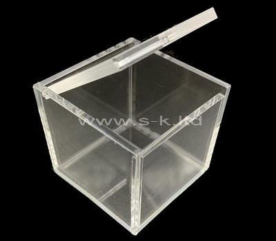 Custom design small clear acrylic box