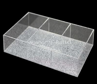 Custom design 3 grids acrylic box