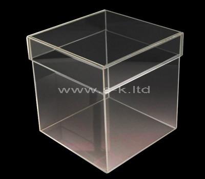 Custom design square acrylic box