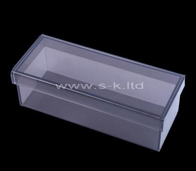 Custom design acrylic wine bottle box