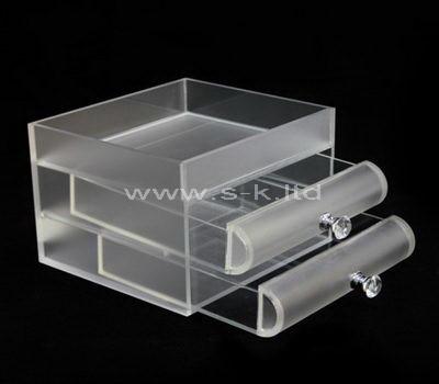 Custom design acrylic 2 drawer box