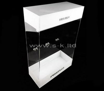 Custom design clear acrylic display box