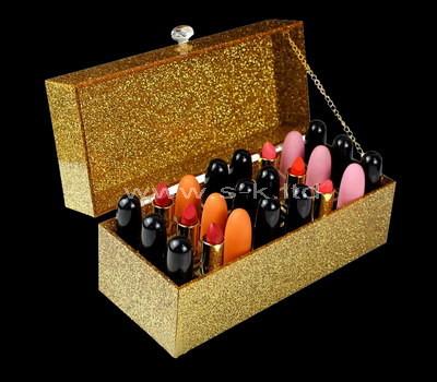 Custom acrylic lipstick organizer box