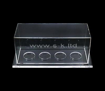 Custom retail clear acrylic display case