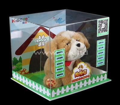 Custom acrylic toy display case