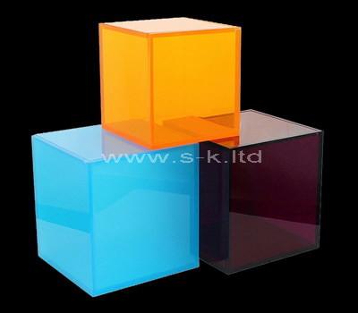 Custom square acrylic display box