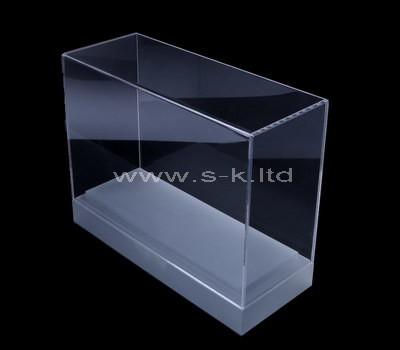 Custom narrow clear acrylic display case
