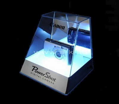 Custom acrylic camera display case