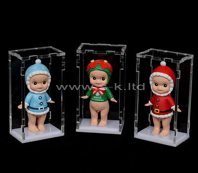 Custom small plexiglass doll display case