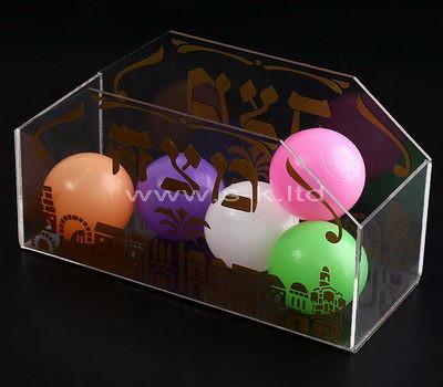Custom lucite box