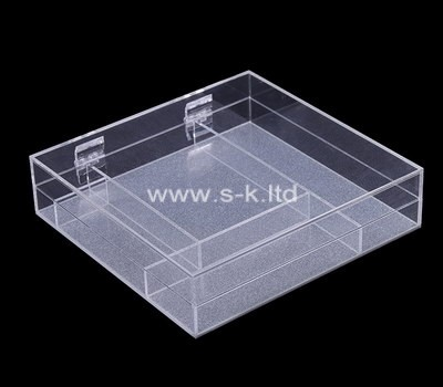 Custom acrylic multi grids case with lid