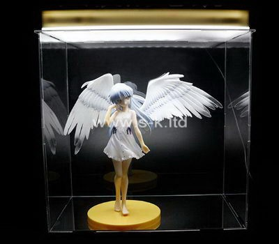 Custom clear acrylic angel case
