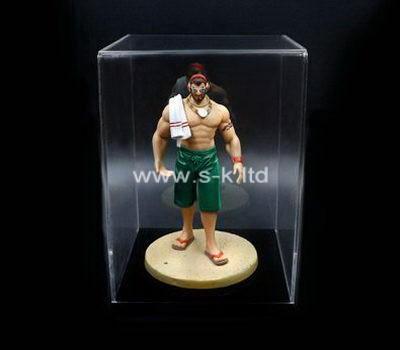 Custom clear acrylic figure case