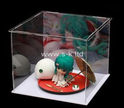 Custom clear acrylic figure box