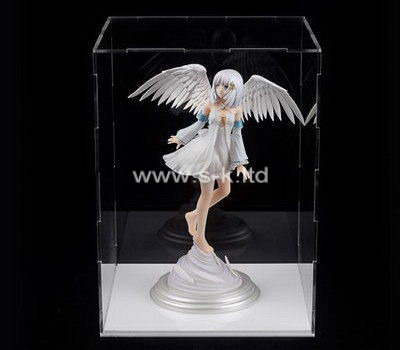 Custom clear acrylic angel box