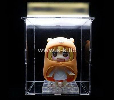 Custom clear acrylic doll box
