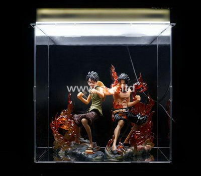Custom clear acrylic Martial arts star box