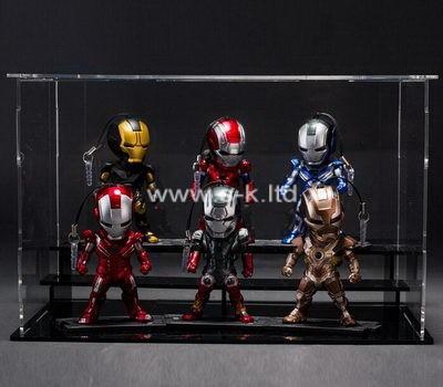 Custom clear acrylic robots box
