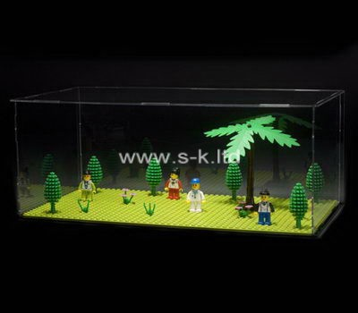 Custom clear acrylic model display box