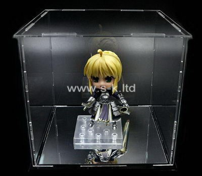 Custom clear acrylic figure display case