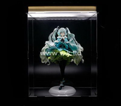 Custom clear acrylic dancer display case