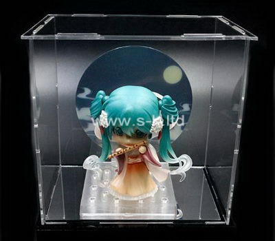 Custom clear lucite display box
