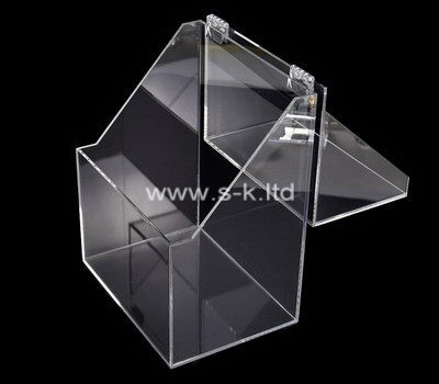 Custom lucite display box with lid