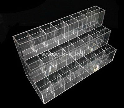 Custom 3 tiered mulit grids lucite display box