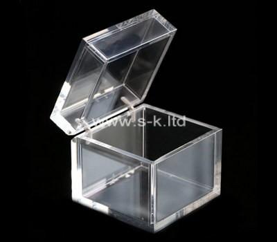 Custom square perspex display box