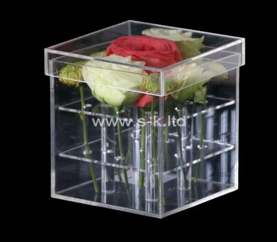 Custom perspex rose box