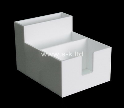 Custom white perspex display box