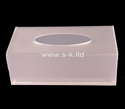 Custom perspex tissue box