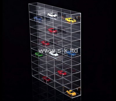 Custom multi grids acrylic model cars display cabinet