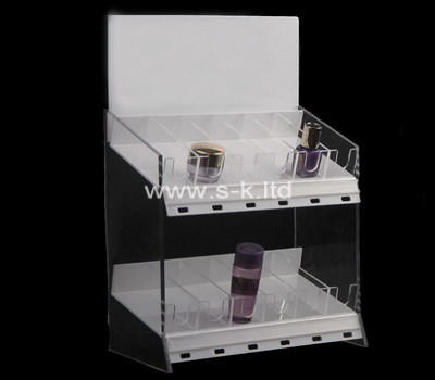 Custom 2 tiers acrylic display cabinet