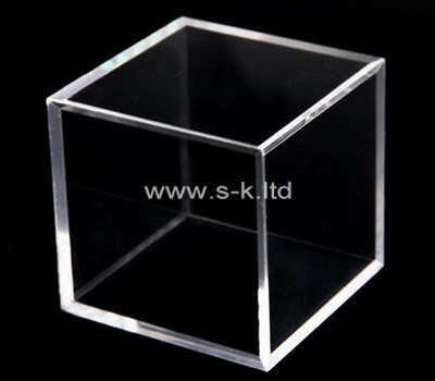 Custom square acrylic box