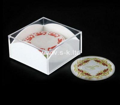 Custom acrylic coaster holder