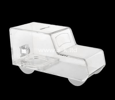 Custom car shape acrylic ballot box