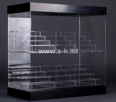 Custom 8 tiered acrylic display cabinet