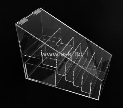 Custom 7 grids acrylic display case