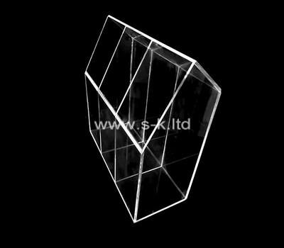 Custom 3 grids acrylic display case