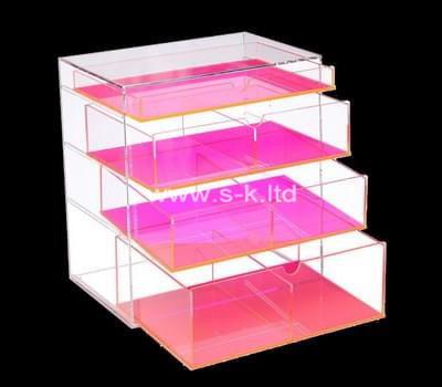 Custom acrylic drawer organizer