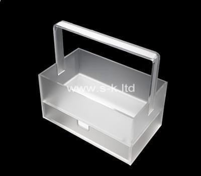Custom acrylic box with handle