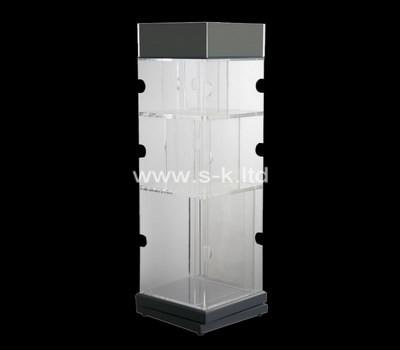 Custom square acrylic cabinet