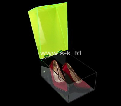 Custom acrylic shoe box