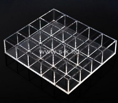 Custom clear acrylic organizer box