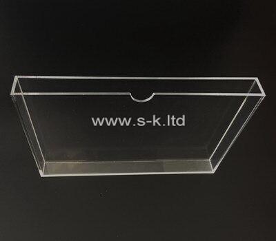Custom clear acrylic slip case