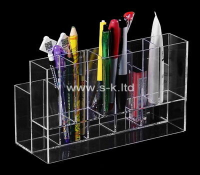 Custom clear acrylic pen display case