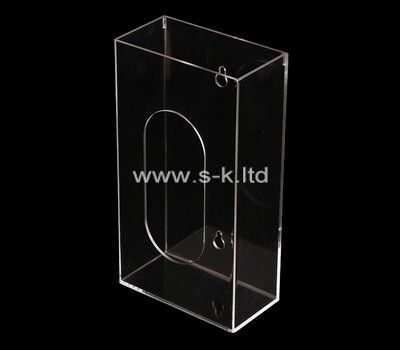 Custom wall clear acrylic display case